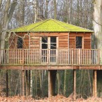 Stilted Pole Tree House Resorts B&B