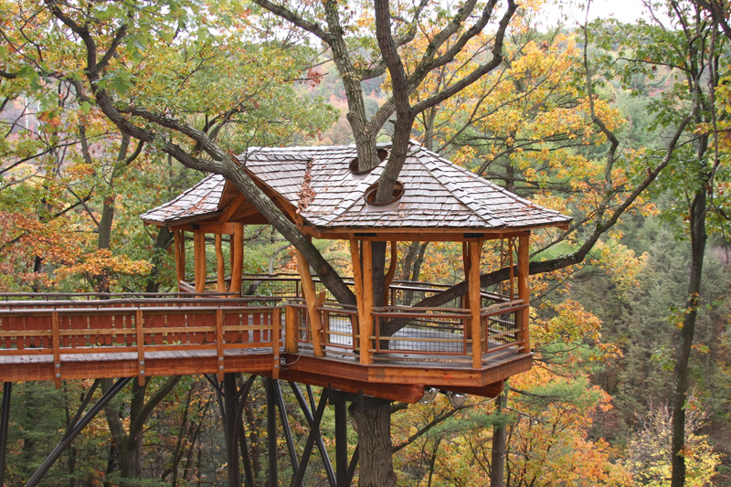 Red Hill Tree Houses Gallery